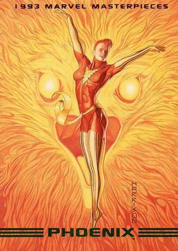 Phoenix - marvel masterpieces - 85 1993 by Jimmy Tyler, via Flickr