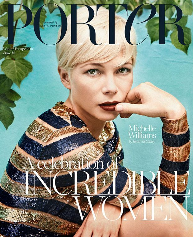 Michelle Williams Covers Porter Magazine Winter Escape 2016