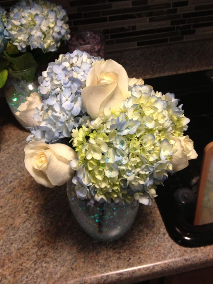 Baptism centerpieces i made my style pinterest