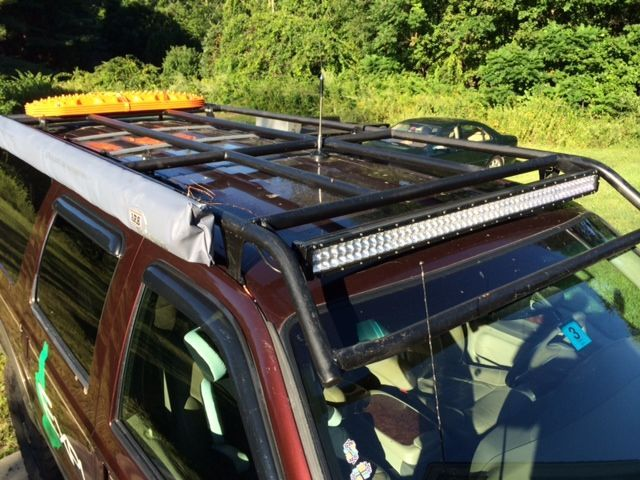 Pin By No On Truck Build Ideas Ford Excursion Roof Rack