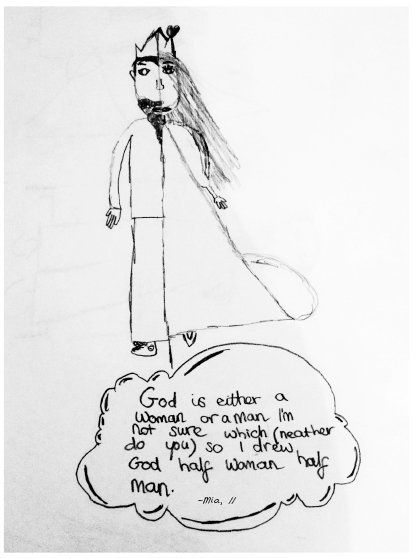 13 Pictures Showing The Adorable Ways Kids Describe God