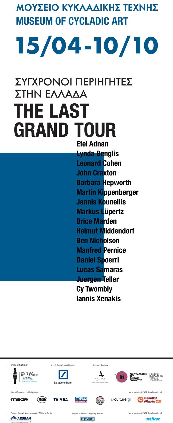 """The Last Grand Tour"" exhibition poster"