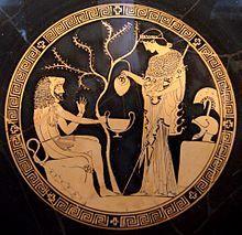Hércules e Atena Cerâmica grega antiga, 480–470 a.C. Mitologia grega – Wikipédia, a enciclopédia livre