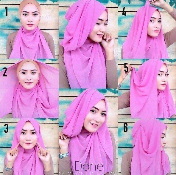 Tutorial Hijab Pashmina Simple Untuk Yang Berkacamata 1000 1000 Modern 1000 In 2020 Hijab Tutorial Tutorial Hijab Segitiga Tutorial Hijab Wisuda