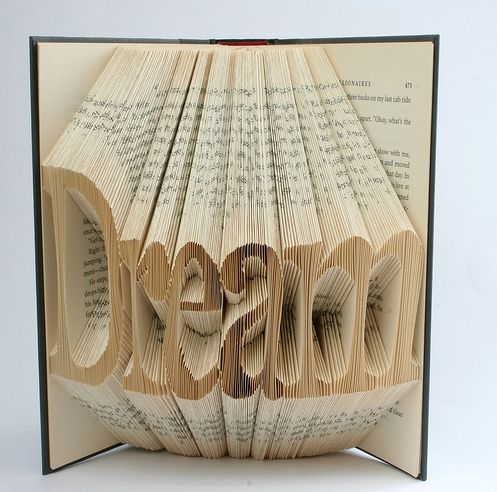 Gorgeous made from old books