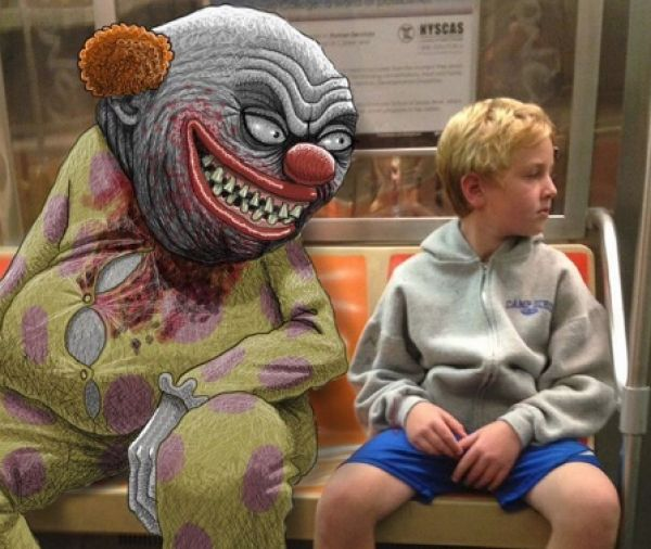 Artists incredible subway art has me lost for words