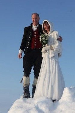 Norwegian Clothing for Women | Norwegian Couple Gets Married At The North Pole | Gadling.com