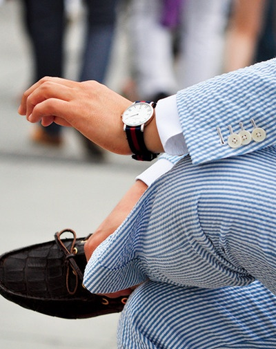 B.O.M.Summer Suits, Boats Shoes, Southern Style, Southern Gentleman, Southern Charms, Men Style, Men Fashion, Men Wear, Men Watches