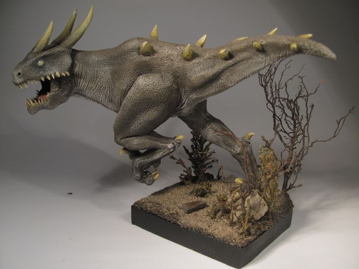 Dragon snapper | Super Sculpey and acrylic colours