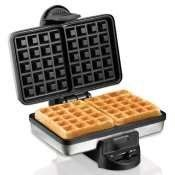 Belgian Style Waffle Baker-26009 by Hamilton Beach. $42.13. Fluffy, right-from-the-baker Belgian waffles.Bake fluffy, restaurant-style waffles in minutes with our popular collection of Hamilton Beach? Waffle Makers. An indicator light tells you when the waffle maker is ready to use, and nonstick grids make it easy to remove freshly cooked waffles.Hamilton Beach? Waffle Makers are designed for quick cleanup. A covered hinge and batter channel help prevent messy spi...