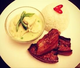 Recipe Clean Thai Green Curry in a Hurry (Chicken) by zarast - Recipe of category Main dishes - meat