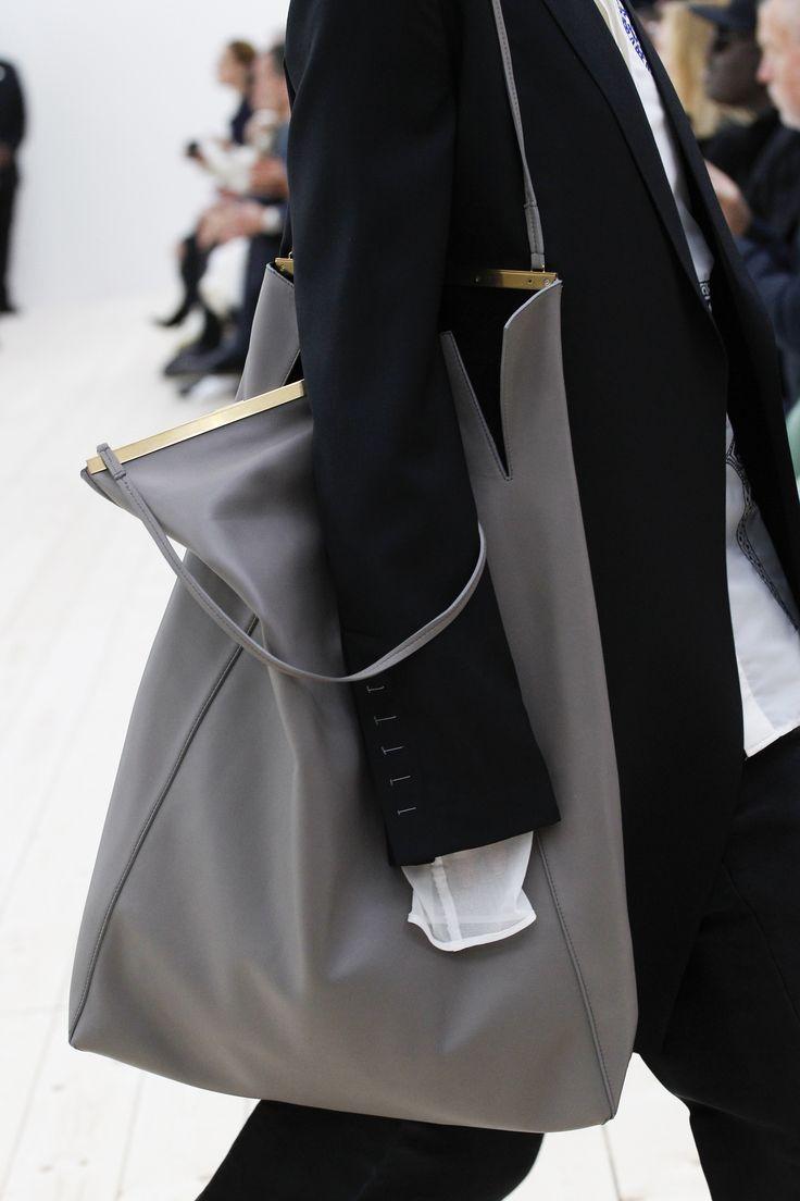 Celine leather tote