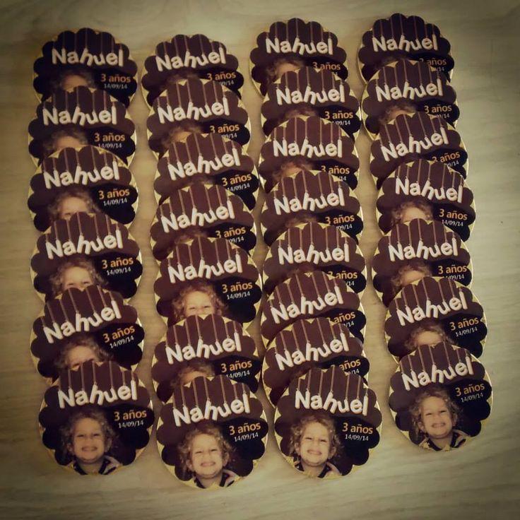 Monedas de Chocolate personalizadas!