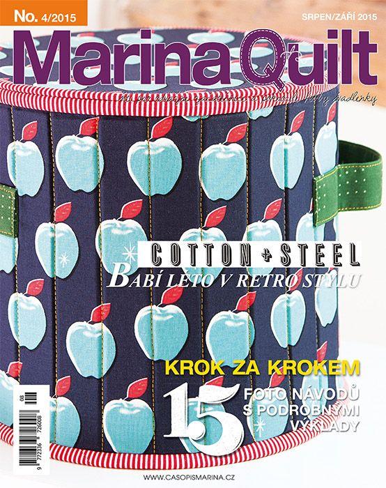 MARINA QUILT srpen / září 2015: titulní strana