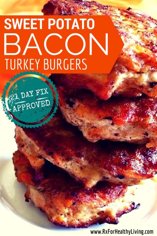 21 Day Fix Turkey Burgers