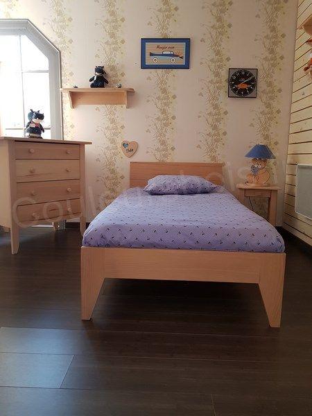 Best 25 lit bois massif ideas on pinterest tete de lit blanche suspension - Lit bois massif ikea ...