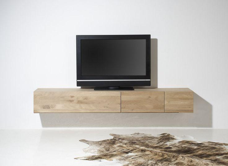 TVmeubel Quartz is een eigentijds en robuust model uit de designstudio van Cantomobili. Het meubel  is vervaardigd uit genoest eiken, wat een fraaie trendy uitstraling geeft. Met een breedte van 220 centimeter, een grote klep en 2 lades bent u voorzien van de nodige opbergruimte. De lades hebben een hoogwaardig soft closing systeem.