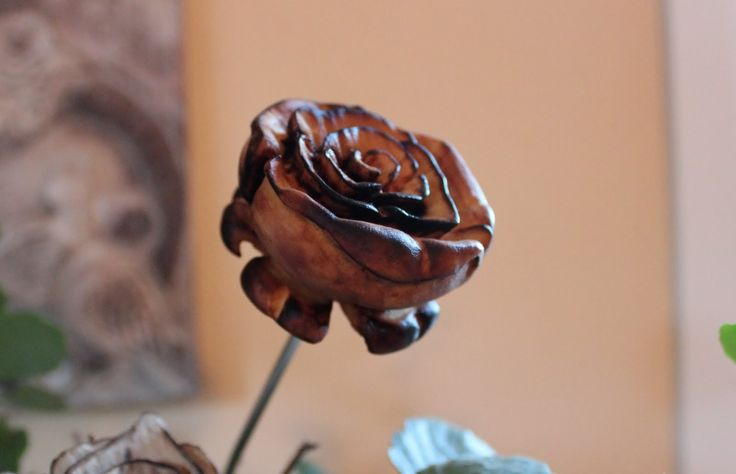 Carving A Rose From Willow Tree With Dremel 4000