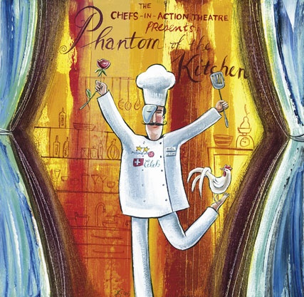 Phantom of the kitchen