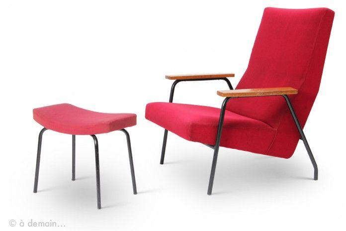 44 best design pierre guariche 1926 1995 images on. Black Bedroom Furniture Sets. Home Design Ideas