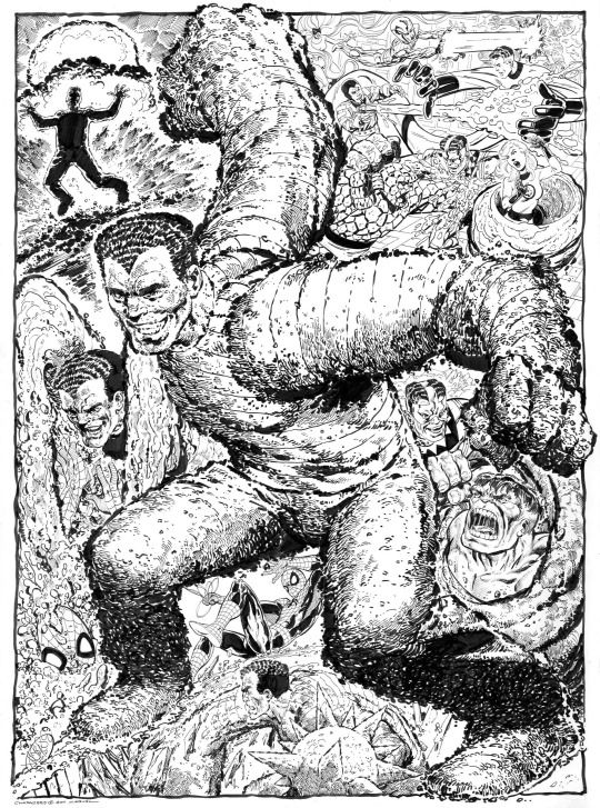 Sandman commission by John Byrne. 2011.