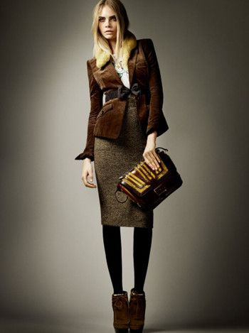 Pre-Fall 2012 Collection of Burberry Prosum  6 - totally autumn. But great.