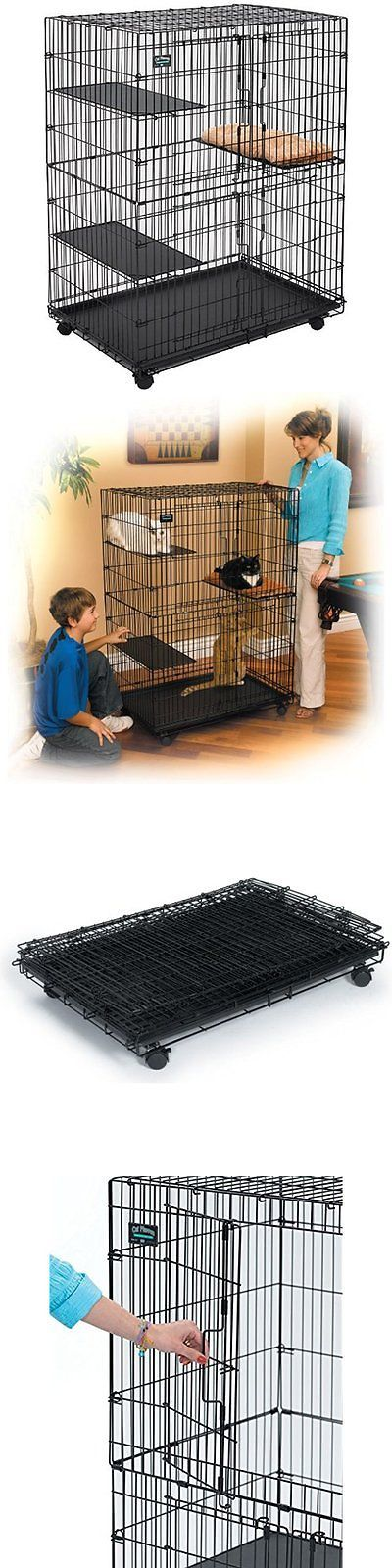 Carriers and Crates 116362: Cat Playpen / Cat Home BUY IT NOW ONLY: $132.78