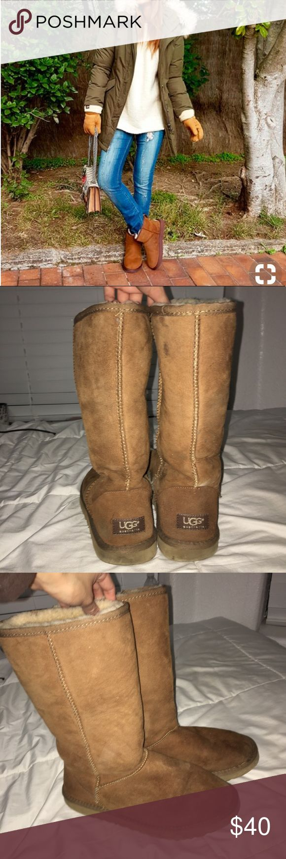 Original ugg boots Really comfy and go with every outfit UGG Shoes Winter & Rain Boots