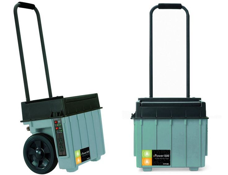 Xantrex XPower 1500 Portable Electric Generator: Excellent Alternative to Diesel Generators with Solar Charging Option @Xantrex