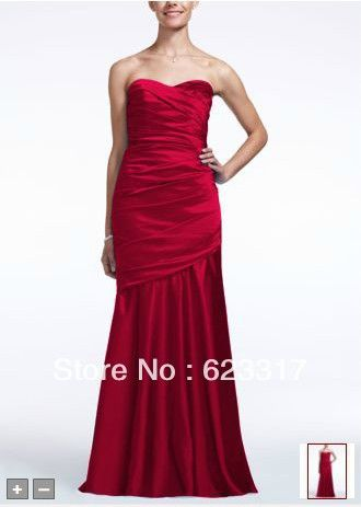 2014-Free-shipping-NEW-Long-Strapless-Stretch-Satin-Dress-Style-F15586-Bridesmaid-Dresses.jpg (330×463)