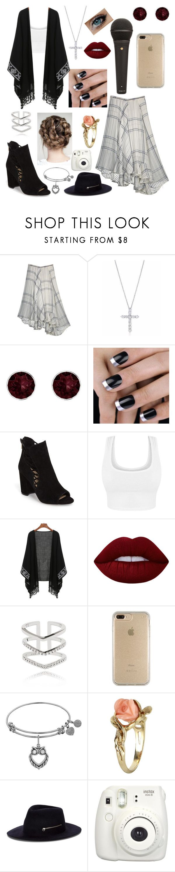 """""""'Jolene'"""" by caketime ❤ liked on Polyvore featuring Tiffany & Co., Pink Box, Jessica Simpson, Lime Crime, Astrid & Miyu, Speck, Vintage, Larose and Fujifilm"""