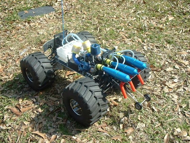 how to build a rc car with arduino