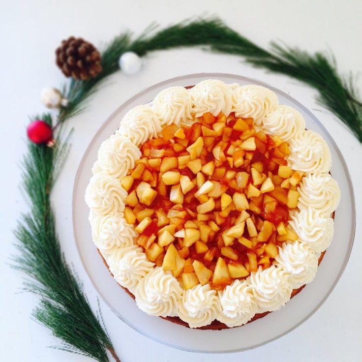 die besten 25 weihnachtlicher apfelkuchen ideen auf pinterest dessert weihnachten mit. Black Bedroom Furniture Sets. Home Design Ideas