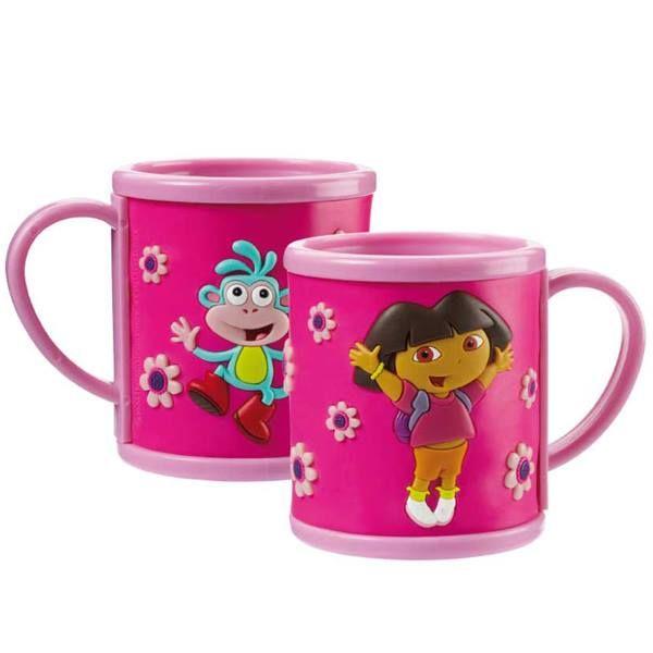 Flouda store | Κούπα pvc με κουτί Dora The Explorer
