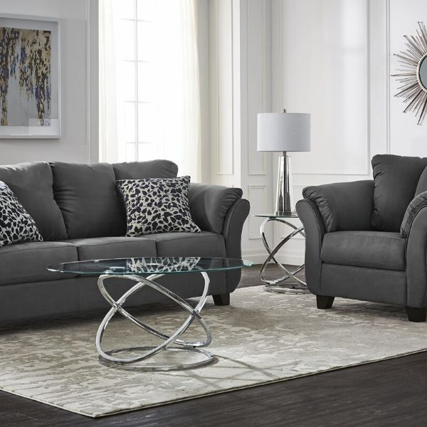 Collier Sofa And Chair Set Dark Grey In 2020 Sofas And Chairs Living Room Sets Living Room Inspiration #pair #of #chairs #for #living #room