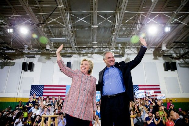 Hillary Clinton Taps Virginia Sen. Tim Kaine As Her Running Mate Ahead of DNC - http://www.theblaze.com/stories/2016/07/22/hillary-clinton-taps-virginia-sen-tim-kaine-as-her-running-mate-ahead-of-dnc/?utm_source=TheBlaze.com&utm_medium=rss&utm_campaign=story&utm_content=hillary-clinton-taps-virginia-sen-tim-kaine-as-her-running-mate-ahead-of-dnc