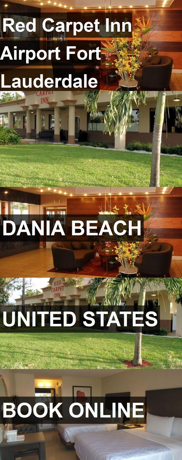 Hotel Red Carpet Inn Airport Fort Lauderdale in Dania Beach, United States. For more information, photos, reviews and best prices please follow the link. #UnitedStates #DaniaBeach #travel #vacation #hotel