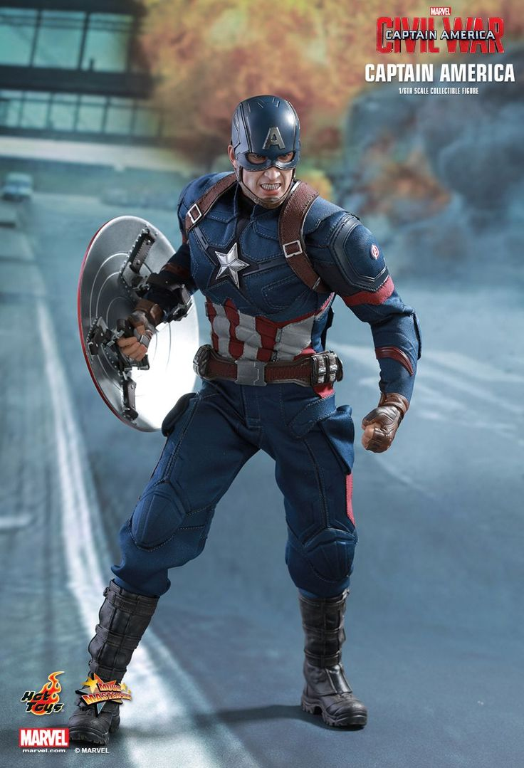 Hot Toys : Captain America: Civil War - Captain America 1/6th scale Collectible Figure