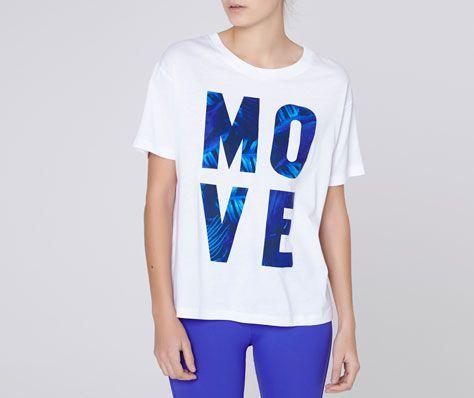 Camiseta manga corta 'Move' de #Oysho.