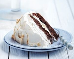 Chocolate and coffee meringue cake recipe
