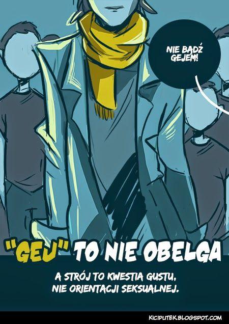 "Kącik Kiciputka - ""Gej"" to nie obelga  kiciputek.blogspot.com"