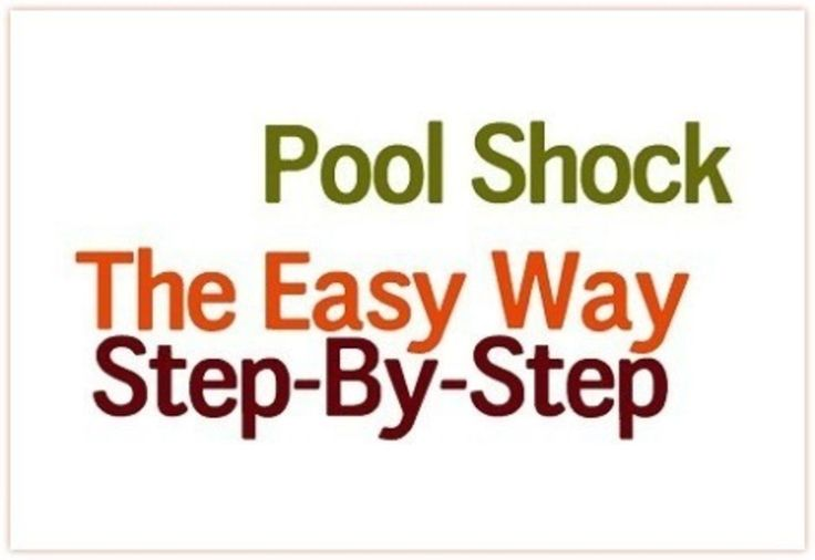 Don't rely on liquid bleach!  How to use Pool Shock to purify water following a disaster.
