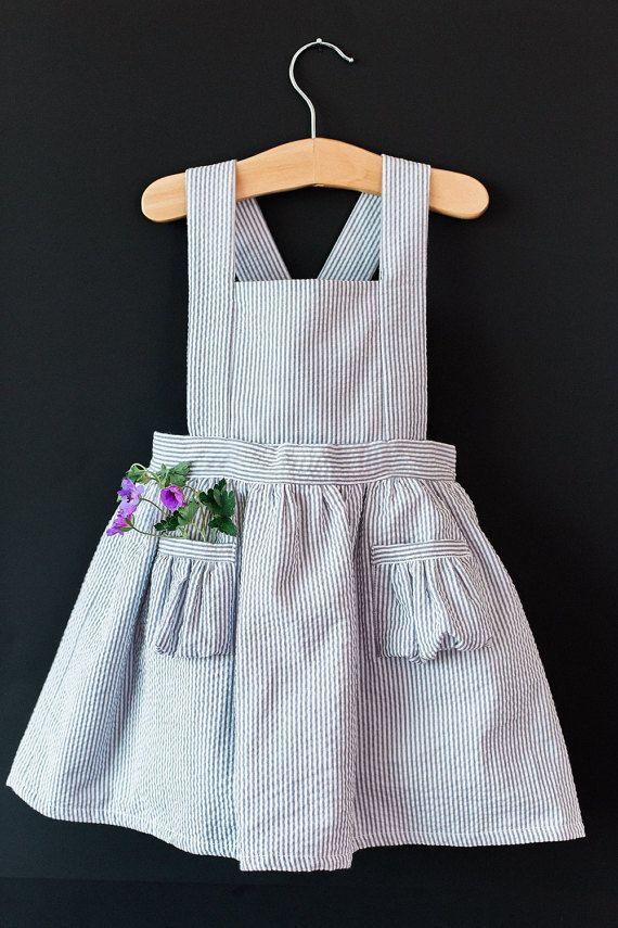 Ayla bambino vestito scamiciato  Vintage ragazze di blytheandreese