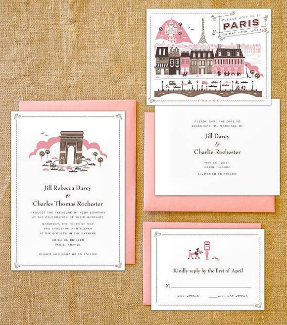 45 Wedding Invitation Designs That Reflect The Style Of Your Event   Wedding Photography Design