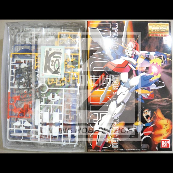 [MODEL-KIT] MG 1/100 - GF13-017NJ II GOD GUNDAM. Item Size/Weight: 31 x 20 x 8 cm / 529g*. (*ITEM SIZE & WEIGHT BEFORE PACKAGED). Condition: MINT / NEW & SEALED RUNNER. Made by BANDAI.