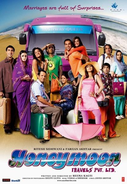 Honeymoon Travels Pvt. Ltd. (2007) - Best Bollywood roadtrip movies
