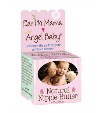 Earth Mama Baby Angel Natural Nipple Butter is a safe, lanolin-free, zero toxin nipple cream for nursing mothers.  £12.95 www.sunflowerzone.com