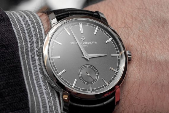 Vacheron Patrimony Traditionelle Manual Wind in Platinum