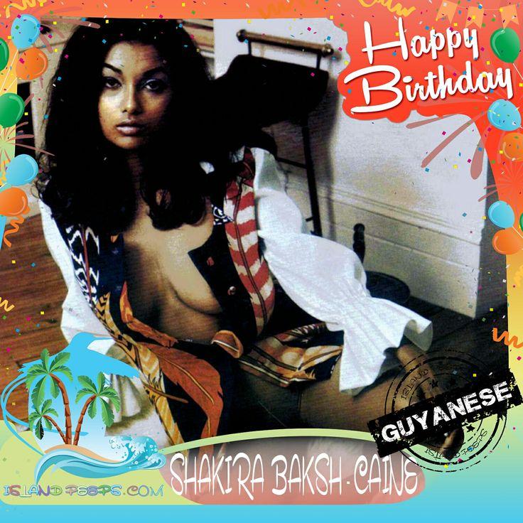 Happy Birthday Shakira Baksh Caine!!! Guyanese born Model/Actress!!! Today we celebrate you!!! #ShakiraBaksh #islandpeeps #islandpeepsbirthdays #Model #MissGuyana #SonofDracul #Guyana