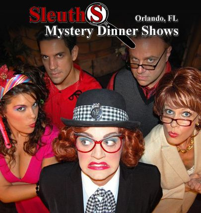 Sleuths Mystery Dinner Show - Orlando Fun Tickets - 1